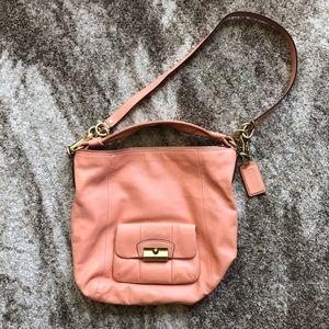 Coral Medium Crossbody Coach Bag